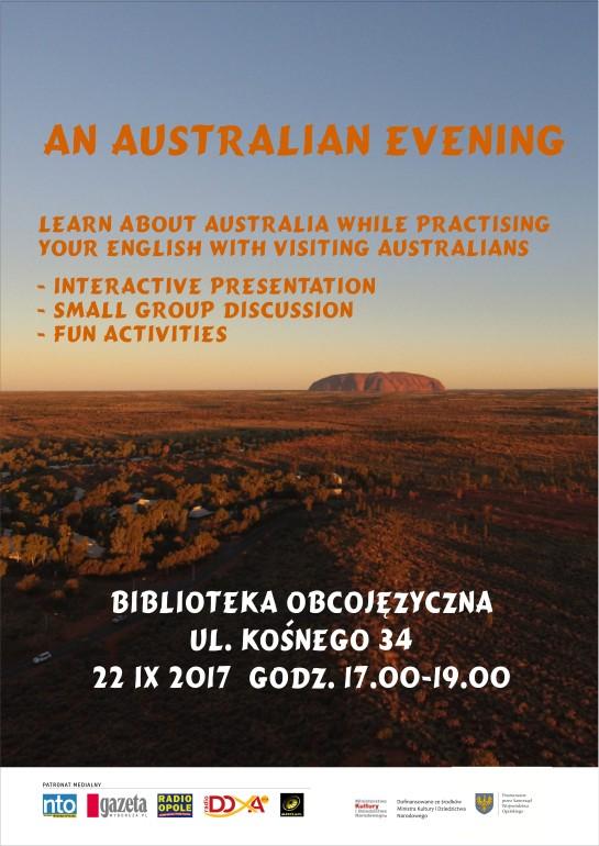 Plakat australiijski